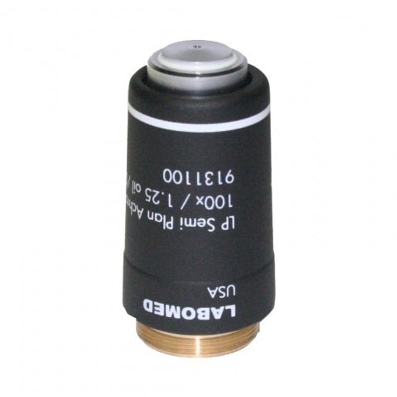 Labomed 9131100 100x Oil Semi-Plan Achromatic Objective