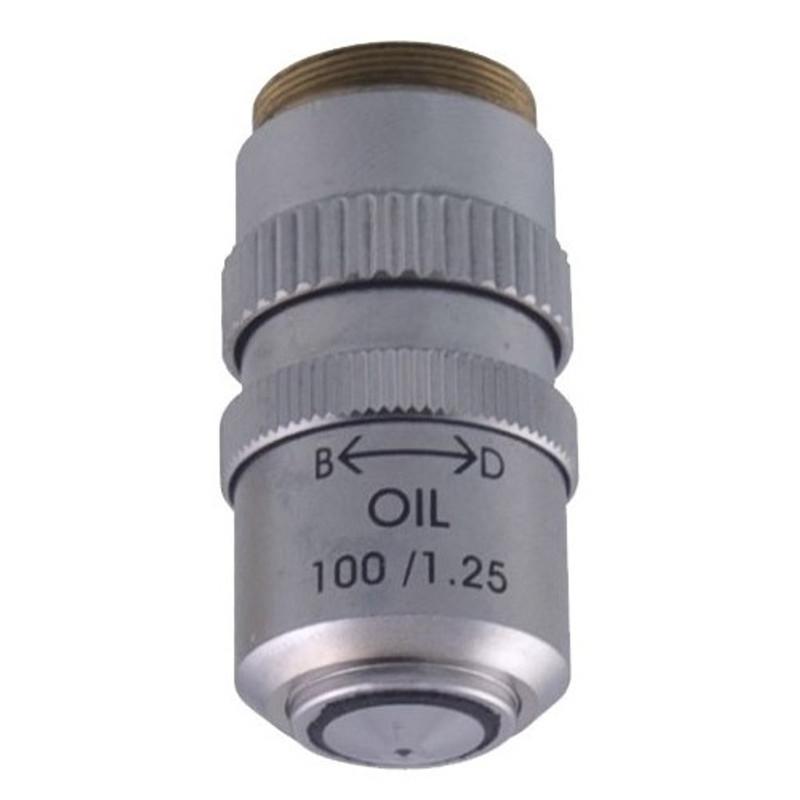 Labomed 9131105 100x Oil Semi-Plan Achromatic Objective with Iris Diaphragm