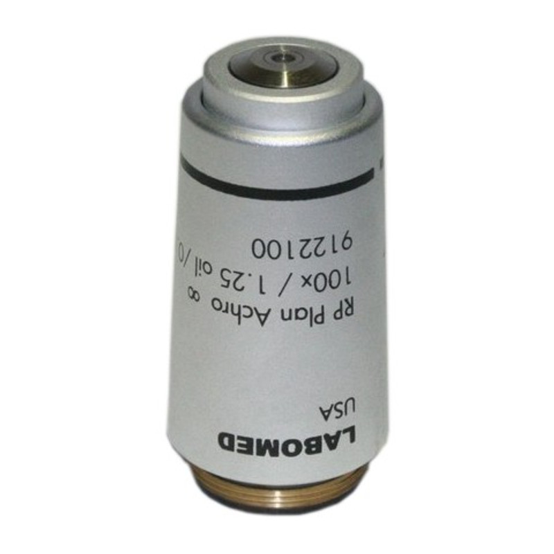 Labomed 9122100 100x Oil Infinity Plan Achromatic Objective for Lx400