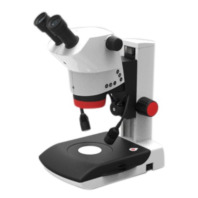 Labomed 4146100-800 Luxeo 6Z Binocular Stereo Zoom Microscope with Bright field/Dark field Illumination, 8x to 50x Magnification