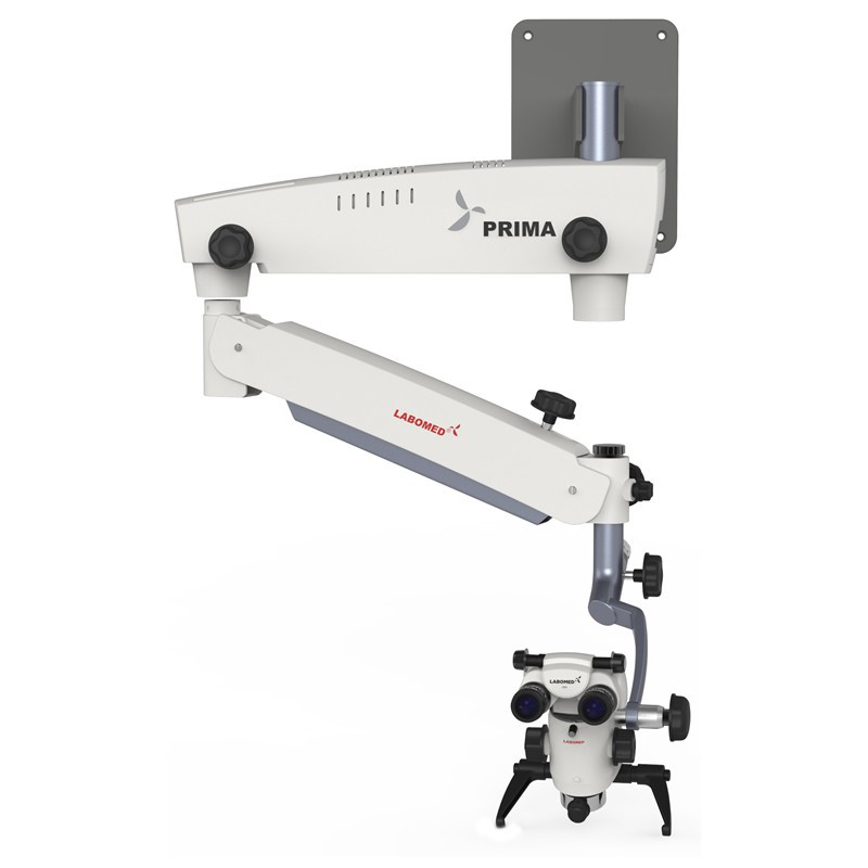 Labomed Prima DNT Surgical Microscope, Wall Mounted