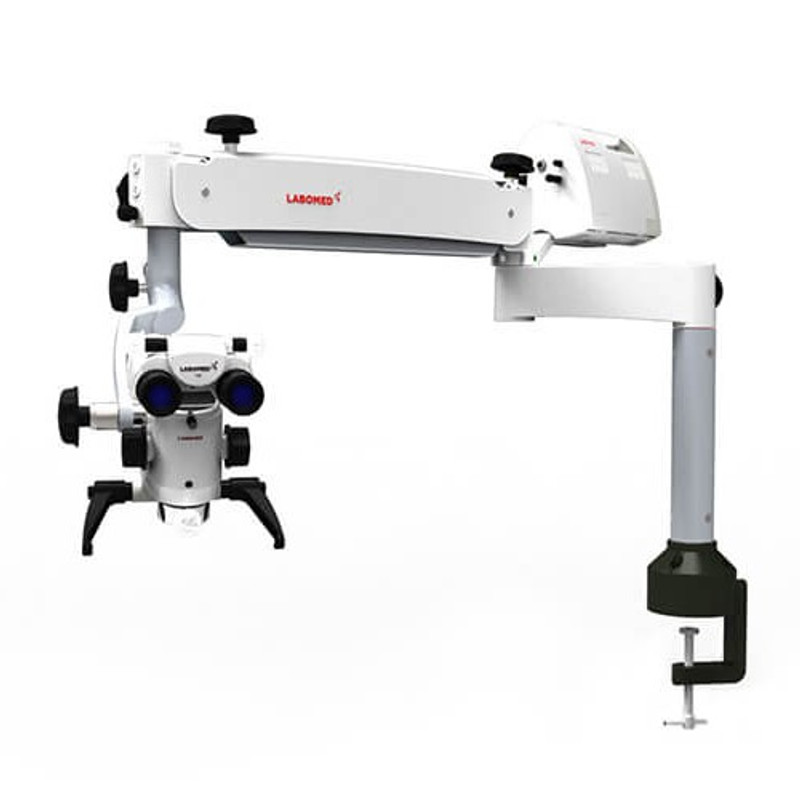 Labomed Prima DNT Surgical Microscope, Table Mounted