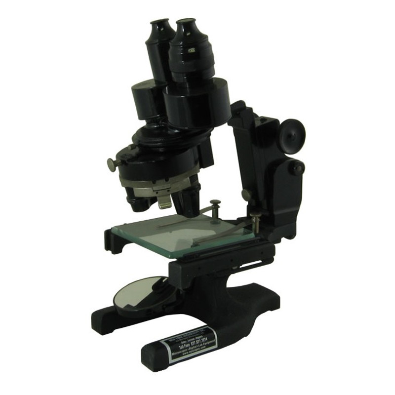 Spencer Stereo Microscope - Three Objectives - Vintage