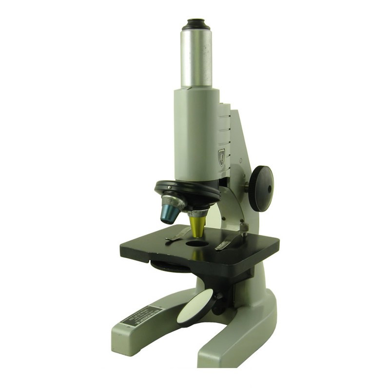 American Optical Scholastic Monocular Microscope - Two Objectives, Mirror - Reconditioned