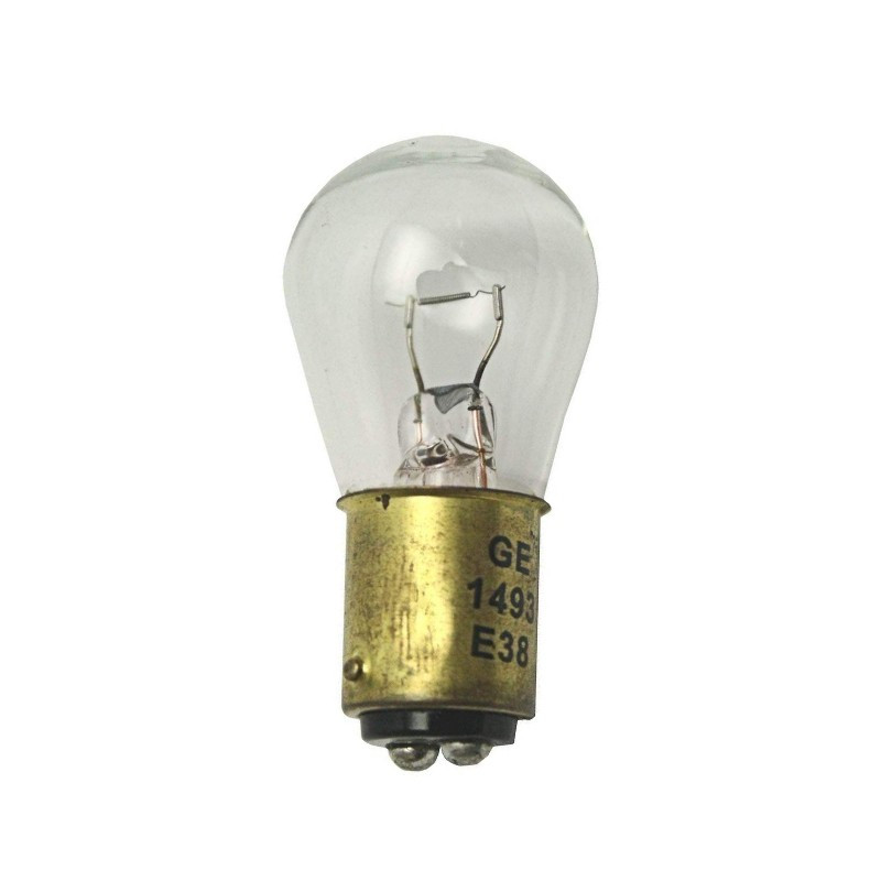 American Optical 6.5V 2.75A Double Contact Bayonet Bulb, Clear (1493)