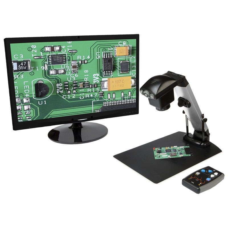 Ash Vision Inspex HD 1080p Digital Imaging System - Integrated Table Stand