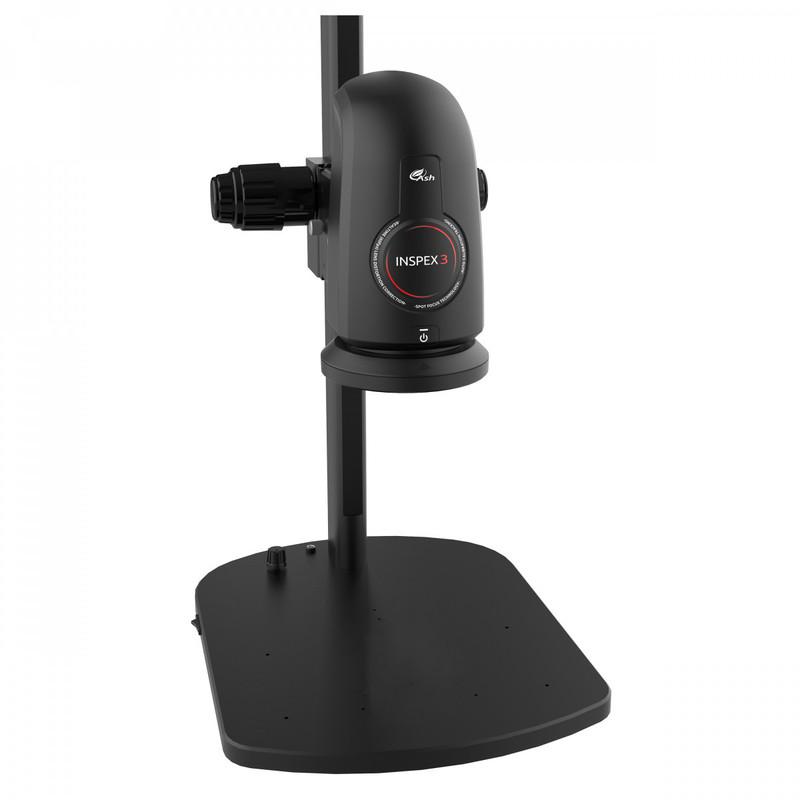 Ash Technologies INSPEX 3 Digital Microscope System on Illuminated Track Stand