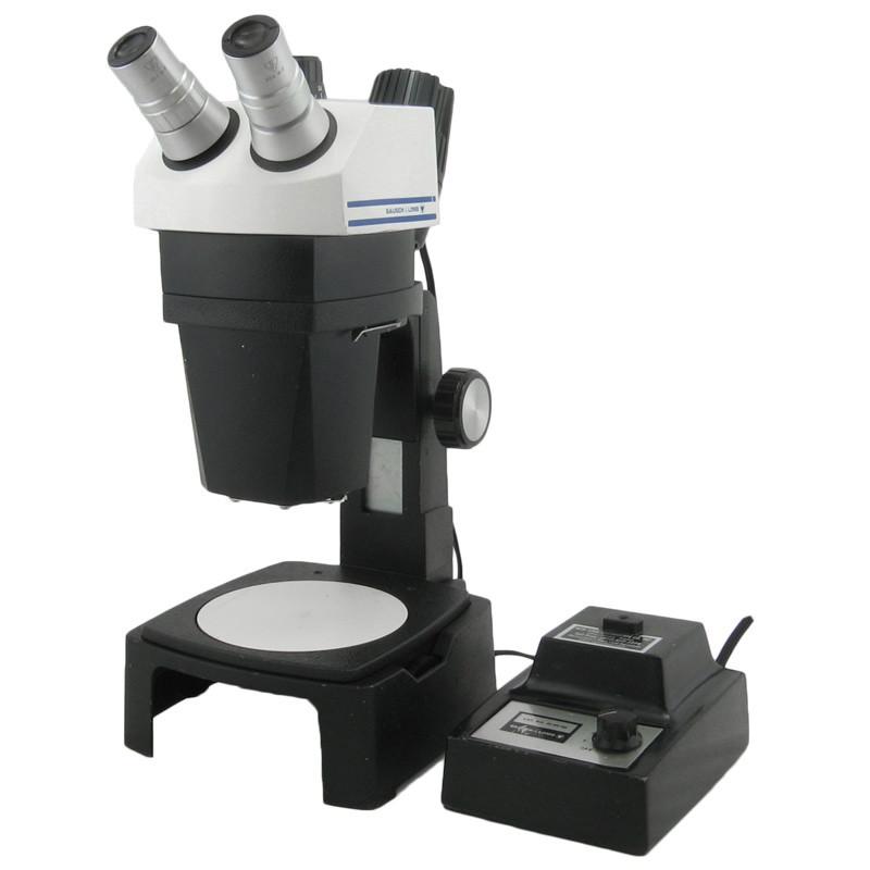 Bausch & Lomb Stereo Zoom 7 Microscope on B Stand with Nicholas Illuminator