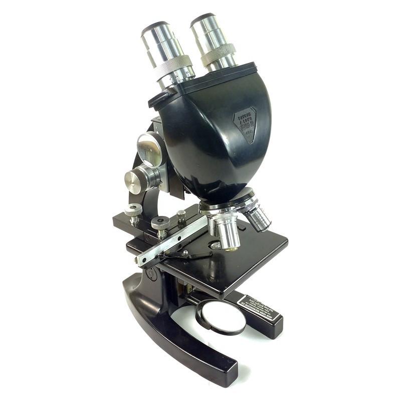Bausch & Lomb Binocular Microscope - 10x, 43x, 97x - Vintage