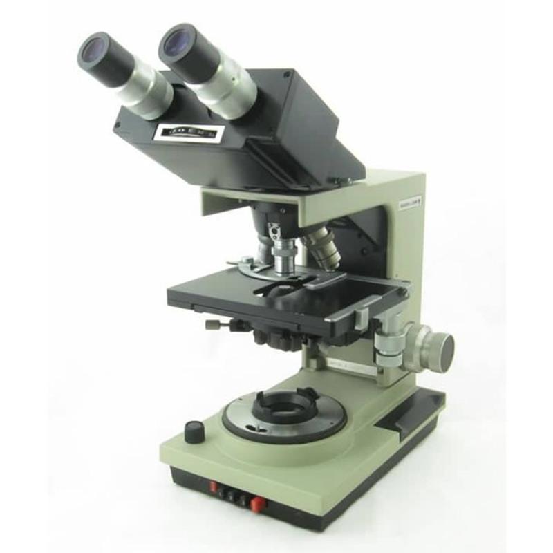 Bausch & Lomb Balplan Trinocular Microscope - Flatfield 4x, 10x, 100x, Planachromat 40x - Reconditioned