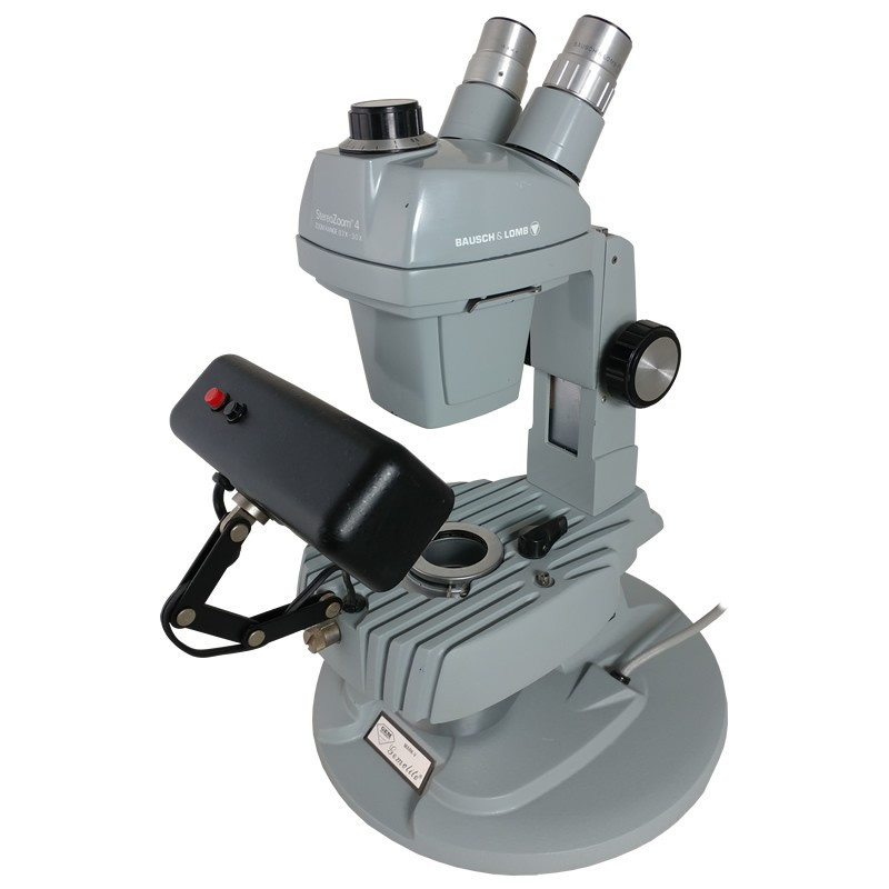 GIA Mark V Gemolite System with Bausch & Lomb Stereo Zoom 4 Binocular Head - Reconditioned