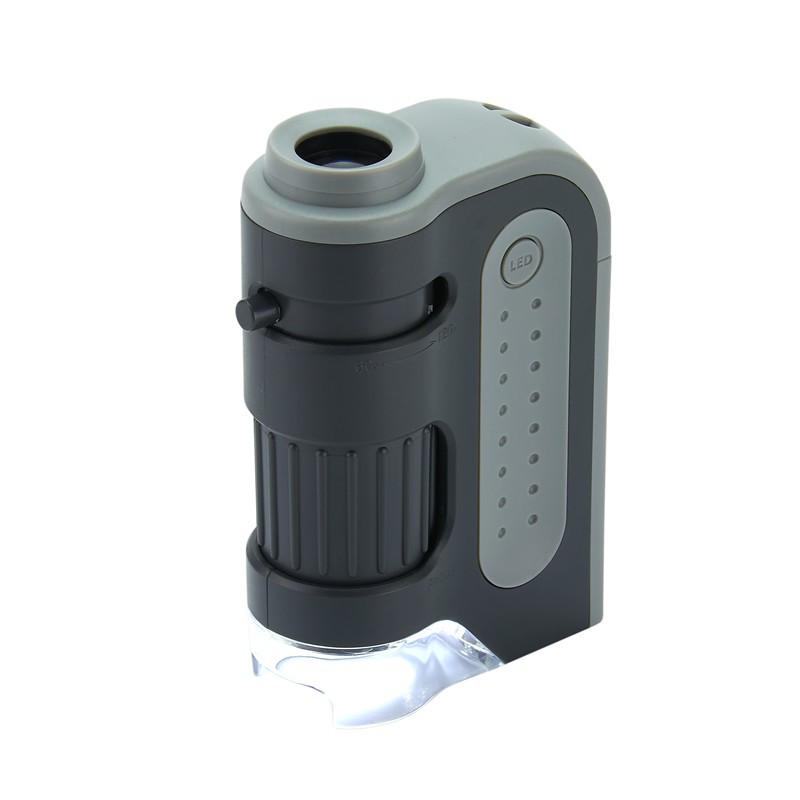 Carson MM-300 MicroBrite Plus, 60x - 120x LED Pocket Microscope