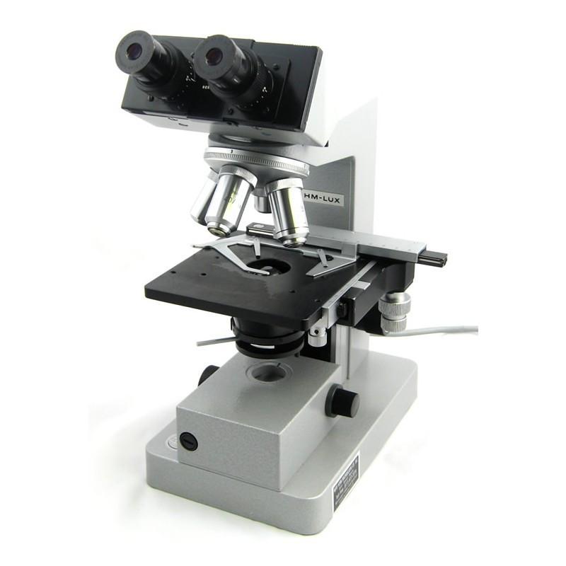 Leitz HM LUX Microscope - All Leitz optics 4x, 10x, 40x, 100x - Reconditioned