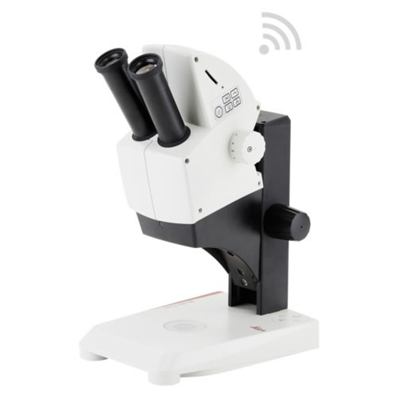 Leica EZ4 W Stereo Microscope with Integrated Wi-Fi Camera - 5.0 Megapixel
