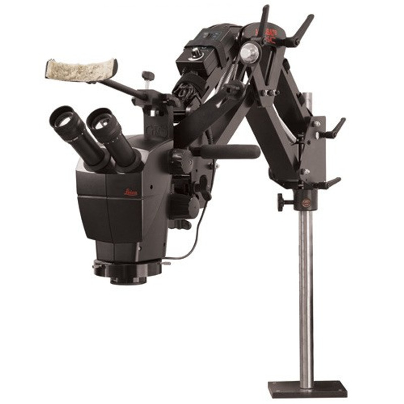 Leica A60 Stereo microscope on Acrobat Versa Stand