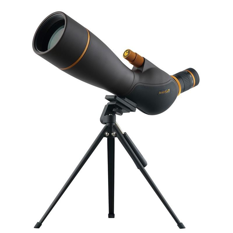 Levenhuk 72106 Blaze PRO 80 Spotting Scope, 20-60x Magnification