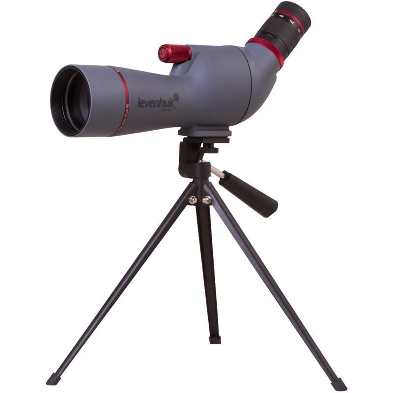 Levenhuk 72100 Blaze PLUS 60 Spotting Scope, 15-45x Magnification