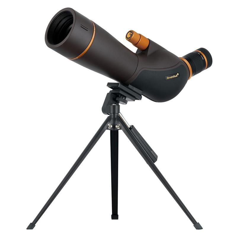 Levenhuk 72104 Blaze PRO 60 Spotting Scope, 20-60x Magnification