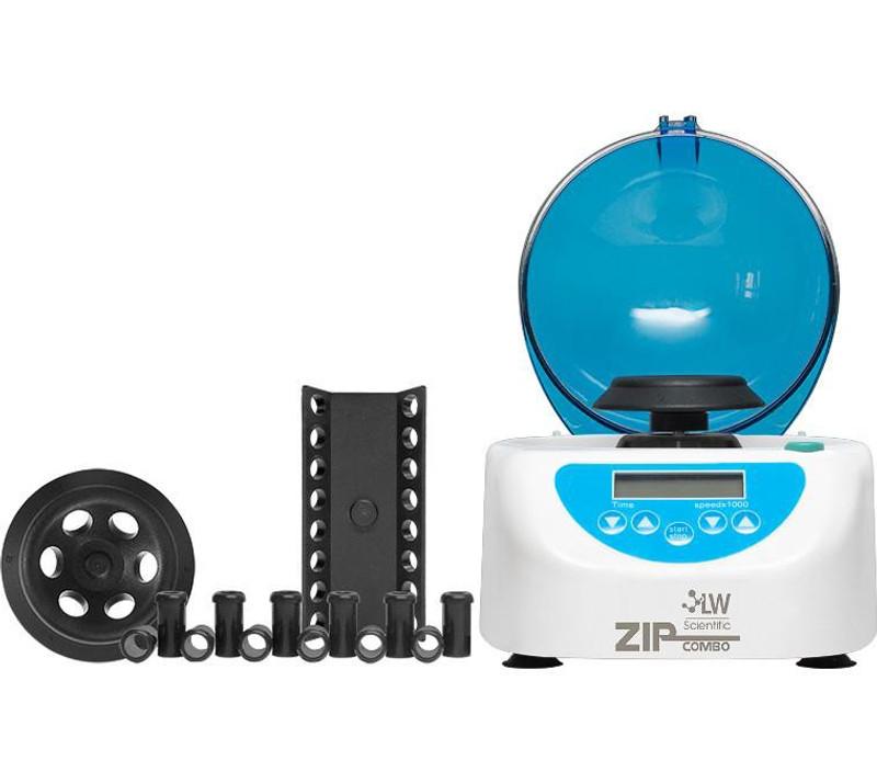 LW Scientific ZipCombo Centrifuge, 6-Place Microtube Rotor