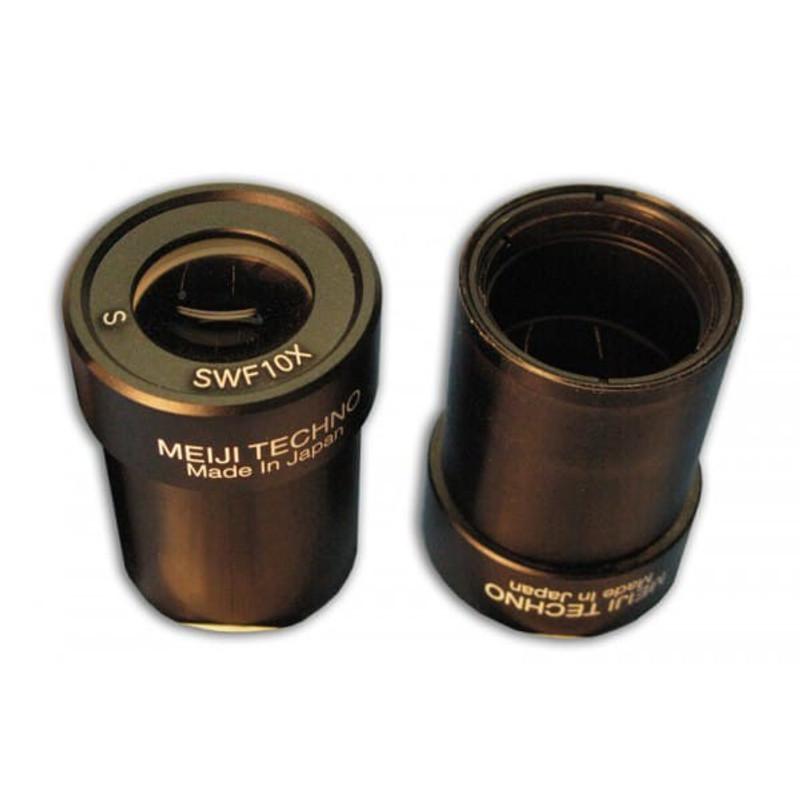 Meiji MA502 10x Super Widefield Eyepiece (Pair) - For EM Series