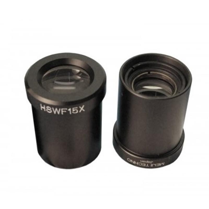 Meiji MA535 15x Super Widefield, High Eyepoint Eyepiece (Pair) - For EM Series