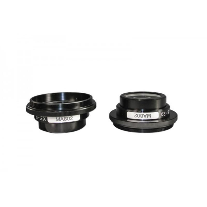 Meiji MA802 2x Auxiliary Lens - For EMZ Series