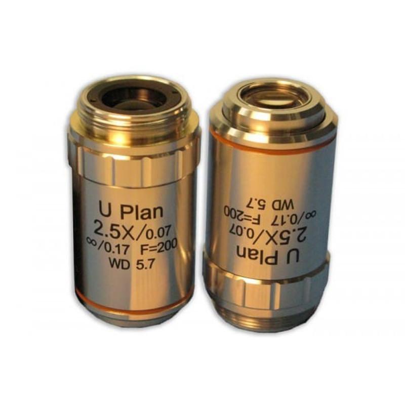 Meiji MA830 2.5x Plan Semi Apochromat Objective for MT4000D, MT5000, MT5000D, MT6000, MT6500 Series