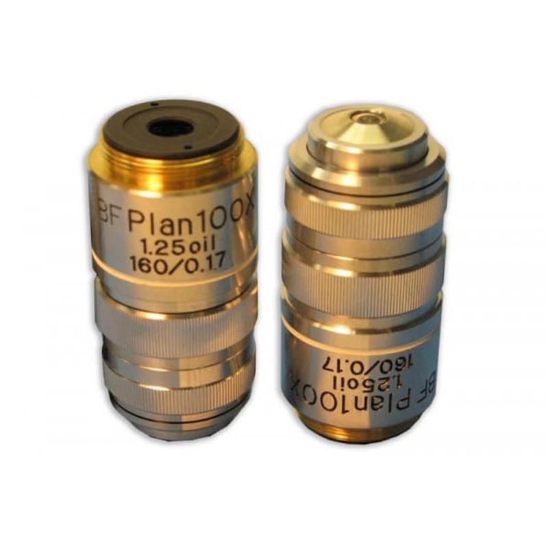 Meiji MA813 100x BF Semi Plan Achromat Oil Objective With Iris