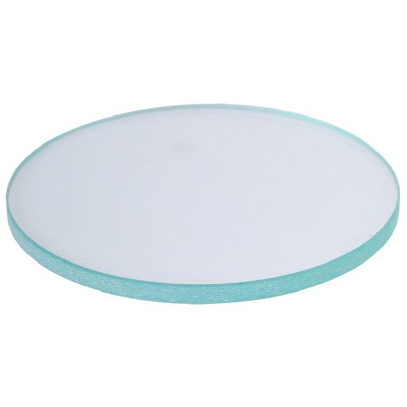 Meiji MA569 Glass Stage Plate (Clear) 94.5mm Diameter