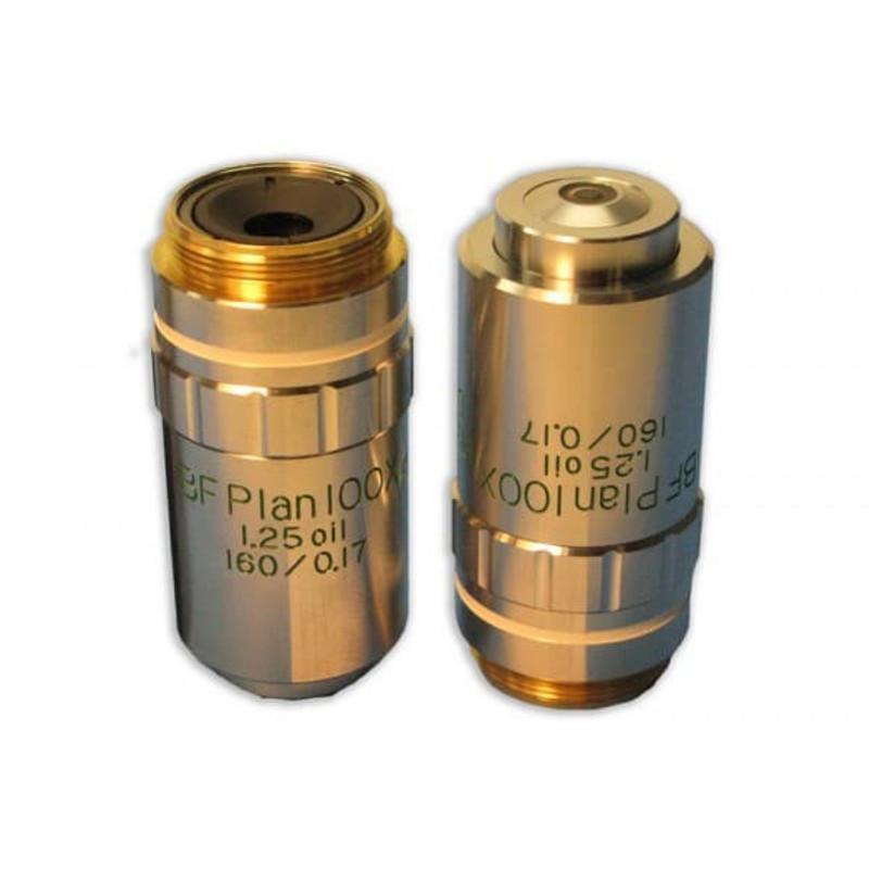 Meiji MA699 100x BF Semi Plan Phase Achromat (Zernike Type)