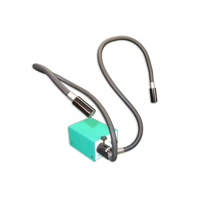 Meiji FTM191 Dual Arm LED Fiber Optic Illuminator, 120V