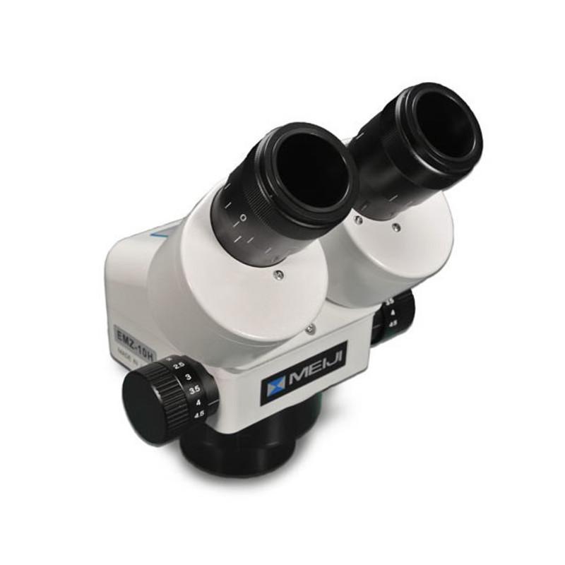Meiji EMZ-10H Binocular Zoom Stereo Head, High Eyepoint, 0.7x - 4.5x Zoom Range