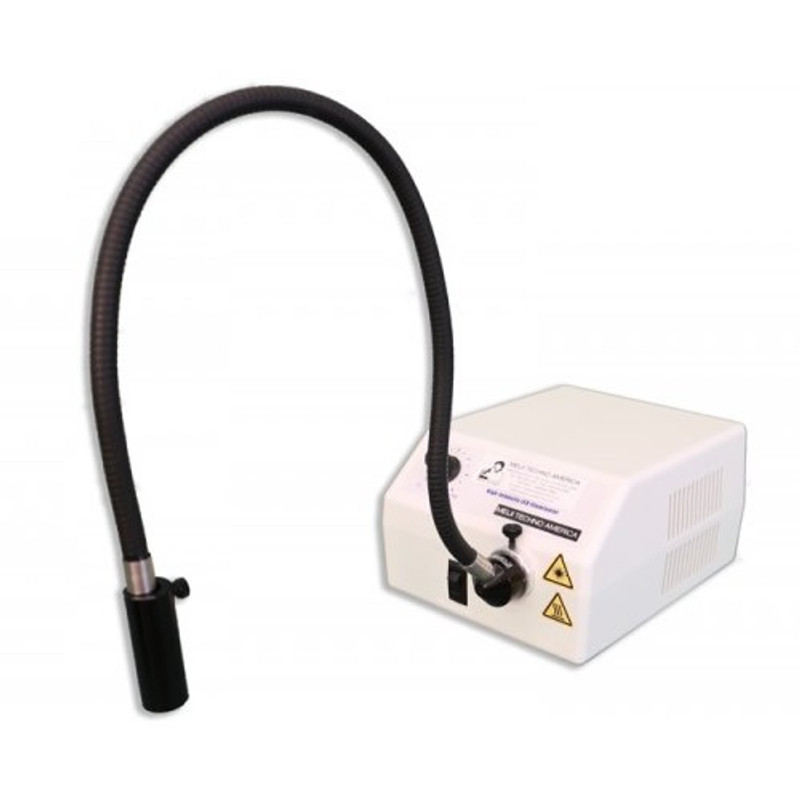 Meiji FL-5000-US-SG Single Arm LED Fiber Optic Illuminator