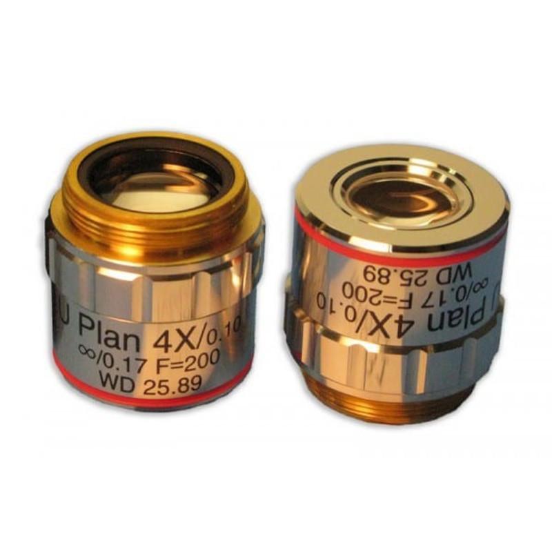 Meiji MA831 4x Plan Semi Apochromat Objective for MT4000D, MT5000, MT5000D, MT6000, MT6500 Series