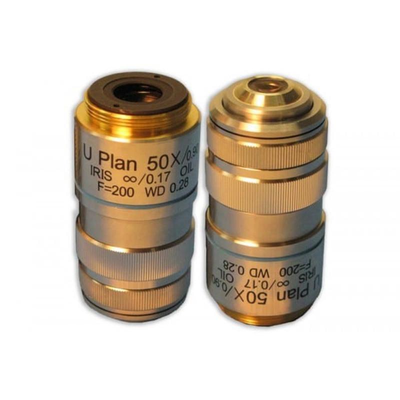 Meiji MA836 50x Plan Semi Apochromat Objective with Iris for MT4000D, MT5000, MT5000D, MT6000, MT6500 Series
