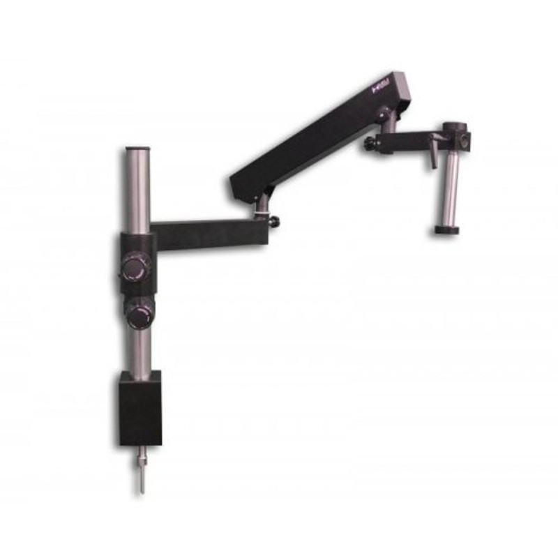 Meiji FA-4 Articulated Arm Stand with 20mm Drop Down Post & Table Clamp