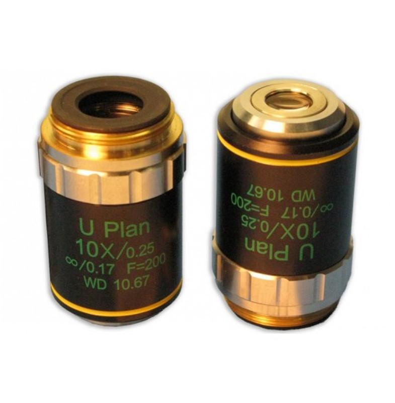 Meiji MA936DC 10x Dispersion Staining Polarizing Objective, Central Stop Type - For Meiji Asbestos PLM Microscopes