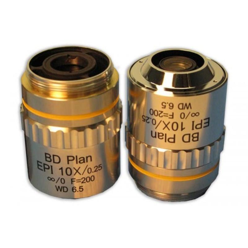 Meiji MA924 10x BD Plan Semi Apo Epi Objective for MC60, MC70, MT7500, MT8500, IM7500 Series