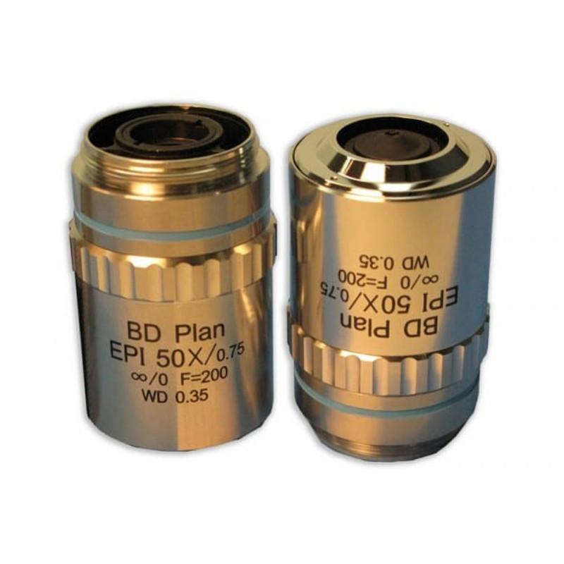 Meiji MA926 50x BD Plan Semi Apo Epi Objective for MC60, MC70, MT7500, MT8500, IM7500 Series