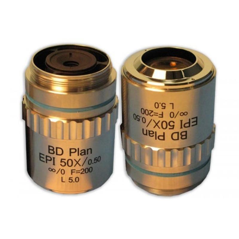 Meiji MA995 50x BD LWD Plan Semi Apo Epi Objective for MC60, MC70, MT7500, MT8500, IM7500 Series