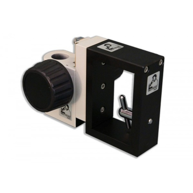 """Meiji FD Coarse Focus Block/Holder with 1/4""""-20 Mounting Screw and 20mm Mounting Port"""