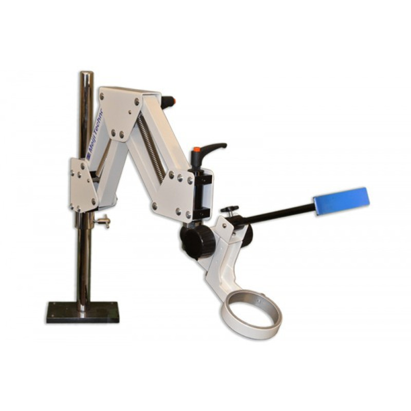 Meiji CR-2 Articulated Arm Stand with Headrest and Coarse Focus Block