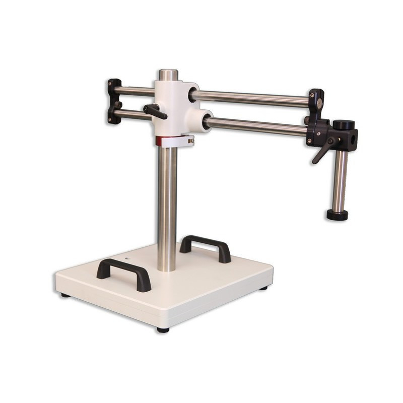 Meiji BAS-2 Heavy Duty Dual Boom Stand with 20mm Drop-down for EM Series