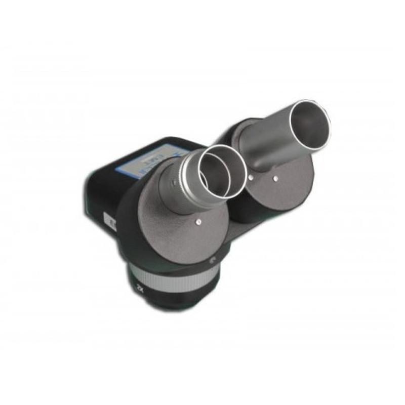 Meiji EMT-1/BLACK Binocular Turret Stereo Head, 1x & 2x Objectives