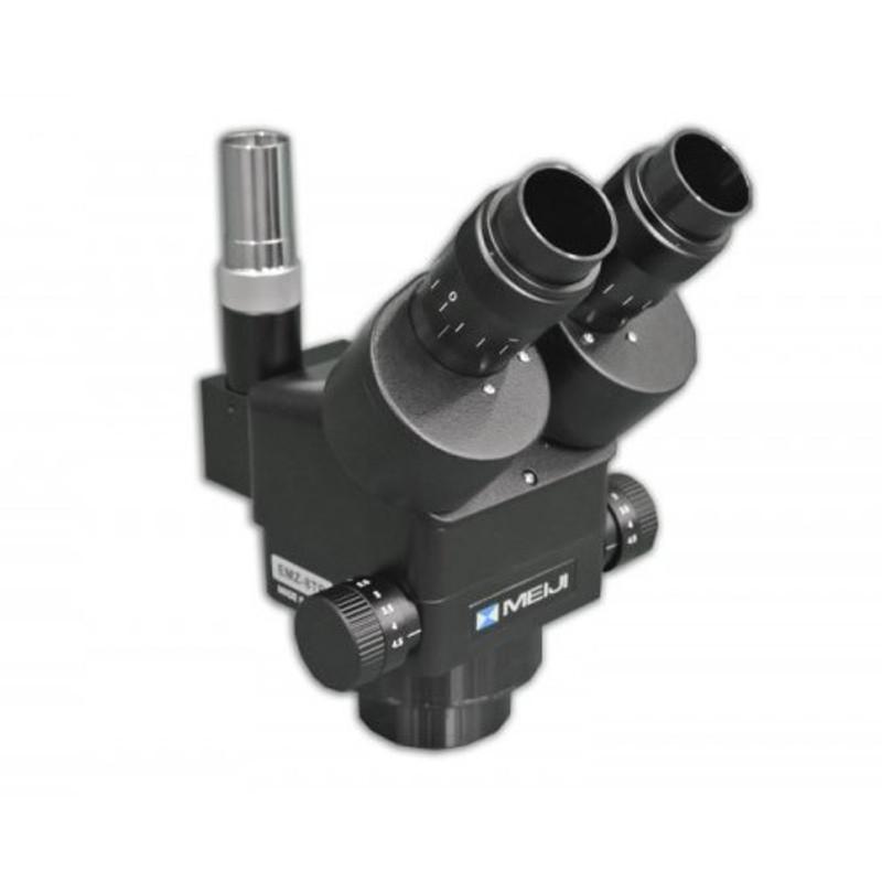 Meiji EMZ-8TR/BLACK Trinocular Zoom Stereo Head, 0.7x - 4.5x Zoom Range