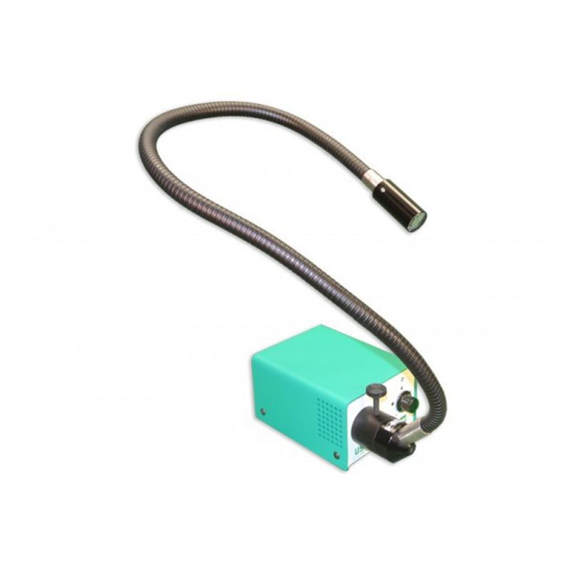 Meiji FTM193/230 Single Arm LED Fiber Optic Illuminator, 220/230V