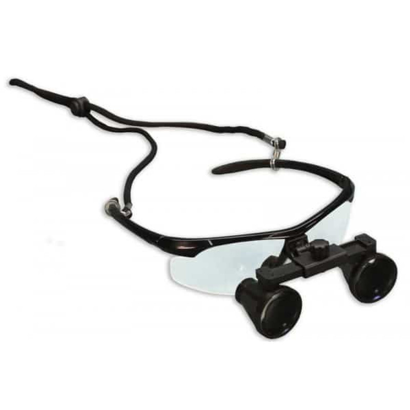 "Meiji MG700/2.5XA 2.5x Galilean Surgical Eye Loupes, 11"" - 15"" Focal Distance"