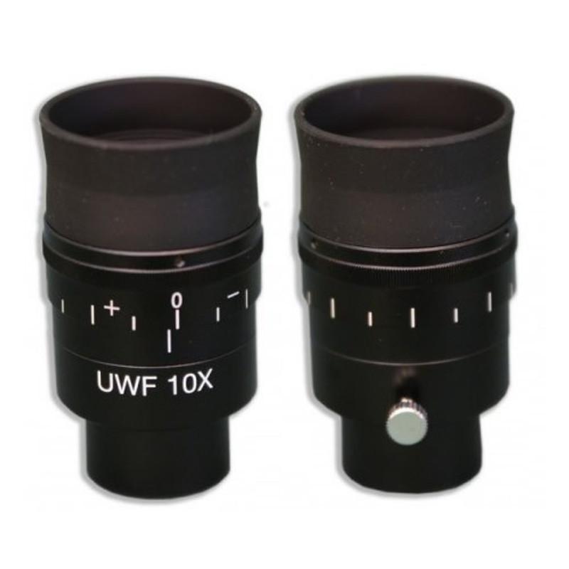Meiji MA731 10x Ultra Widefield Eyepiece with Cross-Line Reticle, Single