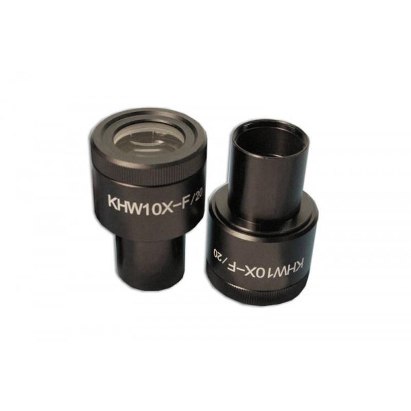 Meiji MA407/05 DIN KHW10X Compensating Focusing Eyepiece, Single