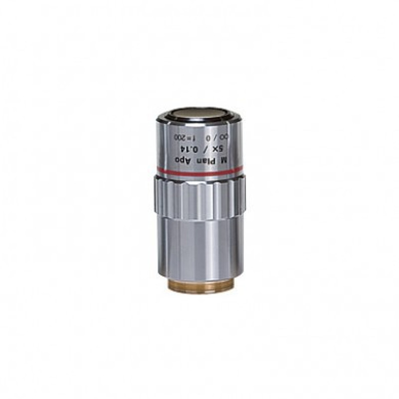 Mitutoyo M Plan Apo 5x Objective for MF-U Measuring Microscopes (Brightfield)